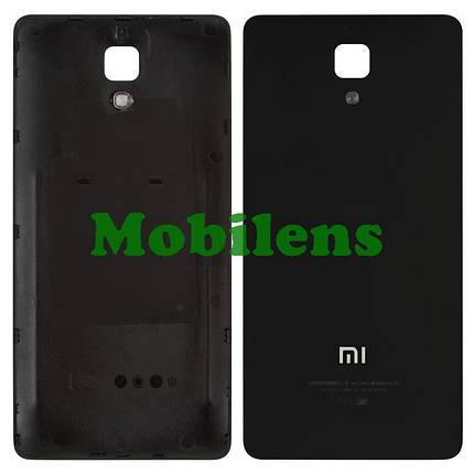Xiaomi Mi4, Mi4X, Mi4W, Model:2014215 Задняя крышка черная, фото 2