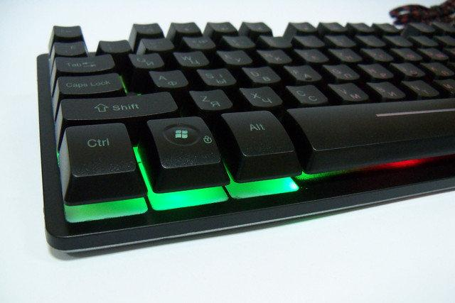 Клавиатура с Led подсветкой Keyboard ZYG - 800
