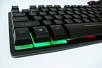 Клавиатура с Led подсветкой Keyboard ZYG - 800, фото 1