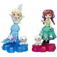 Hasbro Disney Princess B9249 Маленькая Кукла Холодное Сердце на платформе-снежинке