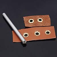 Инструмент для установки блочки люверсов 8 мм звездочка хризантема