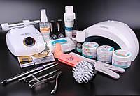 Стартовый набор для наращивания ногтей гелем Global Fashion №5