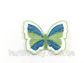 Нашивка метелик 60 х 47 мм