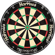 Дартс профессиональная мишень сизаль Harrows ProMatch Англия, фото 2