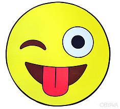 3D коврик Для Дома Безворсовый, 80 см * 80 см, Фруктовый Сад: Лайм,Киви,Арбуз,Пончик,Клубника, Ананас, Кекс, фото 3