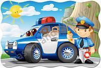 Пазл Полицейский патруль, Castorland, 20 эл., С-02252