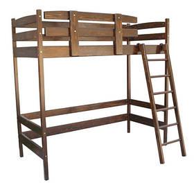 Ліжко горище Сновы коричнева 160-70см