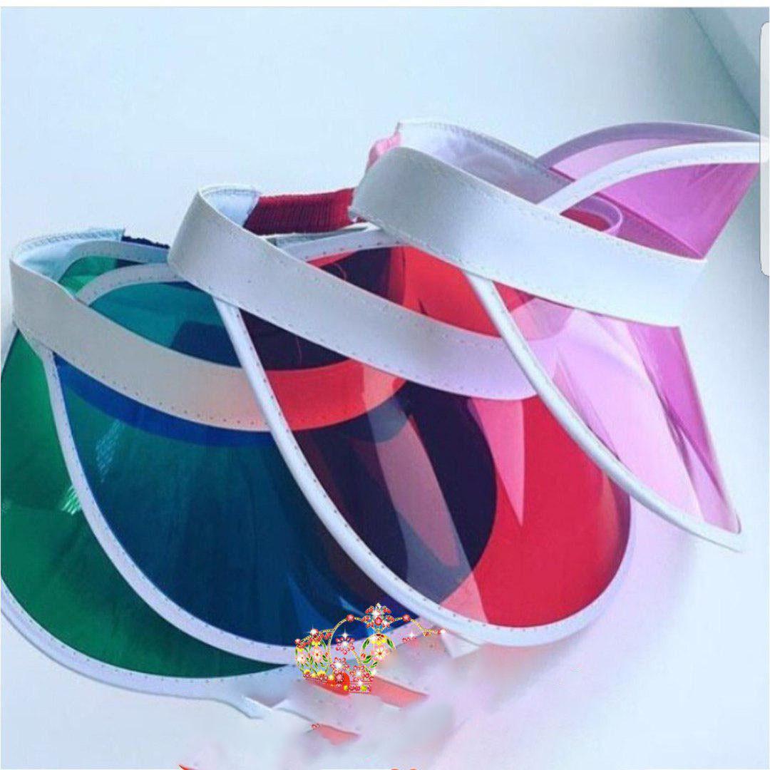 Цветной пластиковый козырек от солнца