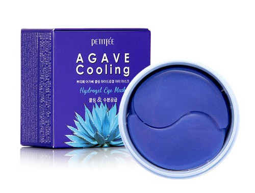 Гідрогелеві охолоджуючі патчі для очей з екстрактом агави PETITFEE Agave Cooling Hydrogel Eye Mask