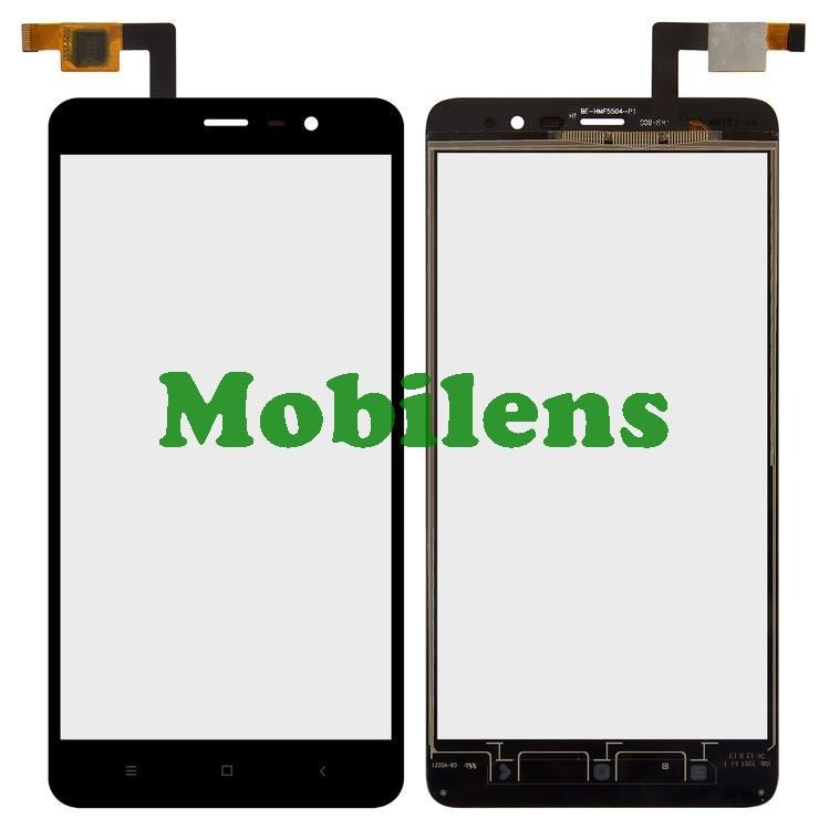 Xiaomi Redmi Note 3, Xiaomi Redmi Note 3 Pro, (высота=147мм) Тачскрин (сенсор) черный