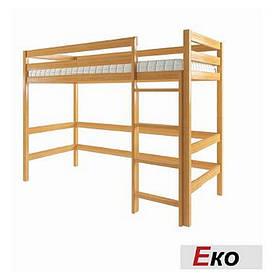 Дитяче ліжко-горище Еко з вільхи