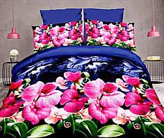 Комплект постельного белья от украинского производителя Polycotton Двуспальный T-90902