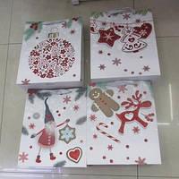"""Пакет подарунковий паперовий """"Новорічний"""" (42*31*12см) арт. R27276"""