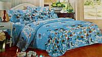 Комплект постельного белья от украинского производителя Polycotton Двуспальный T-90909, фото 1