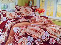 Комплект постельного белья от украинского производителя Polycotton Двуспальный T-90912, фото 1