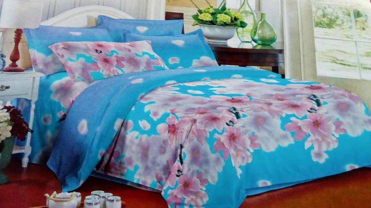 Комплект постельного белья от украинского производителя Polycotton Двуспальный T-90914