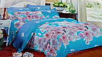 Комплект постельного белья от украинского производителя Polycotton Двуспальный T-90914, фото 1
