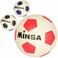 М'яч футбольний (розмір 3, TPE, 250-270г, 3 кольори, кул.) арт. MS 2764