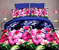 Комплект постельного белья от украинского производителя Polycotton Двуспальный T-90919, фото 1