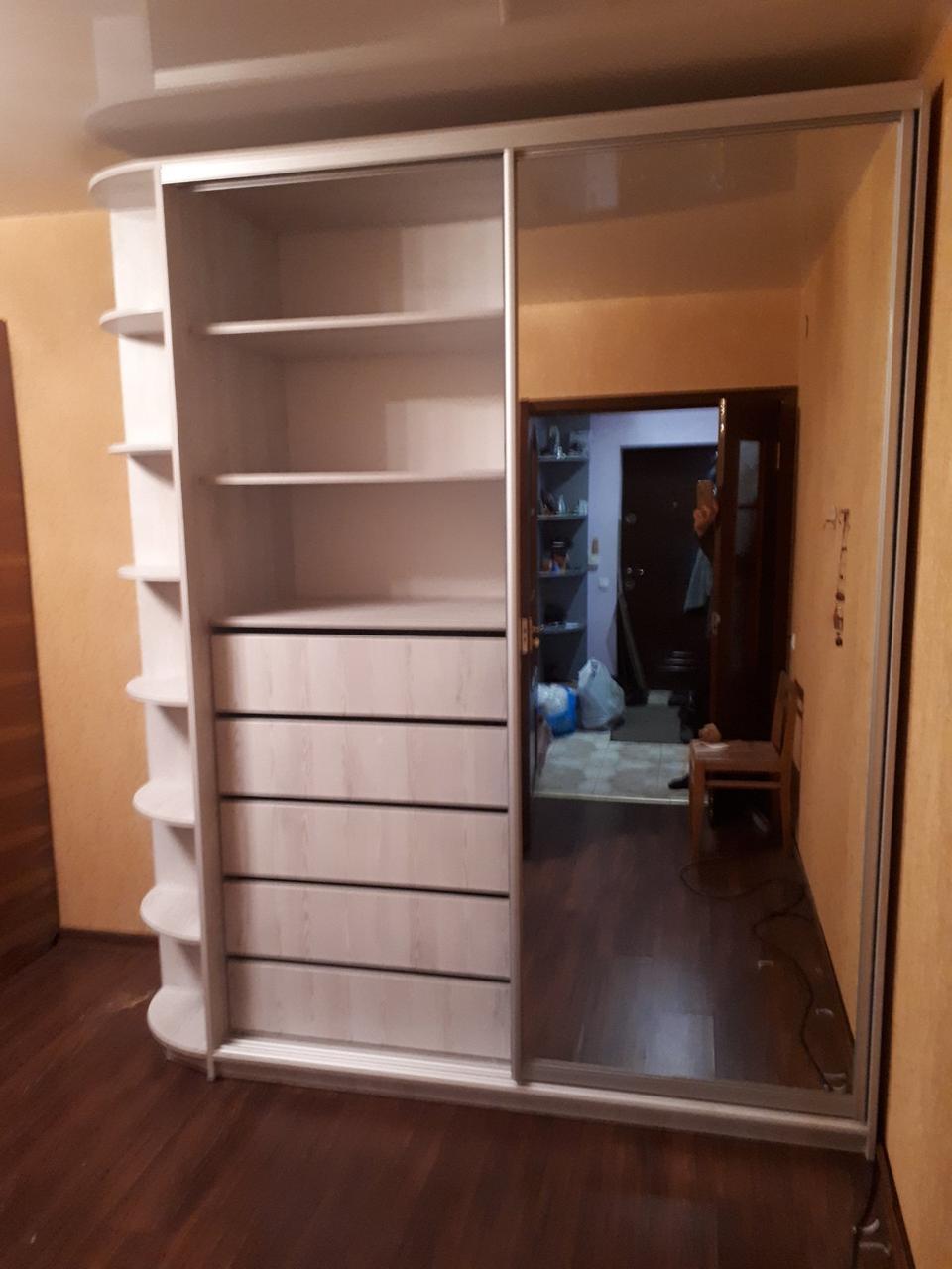 Изготовление шкафов купе в Днепре ТМ Mebeldkdom