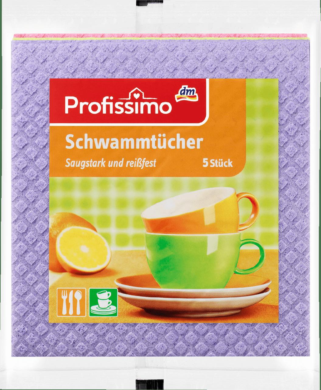 Губчатые салфетки для дома Profissimo, 5 шт.