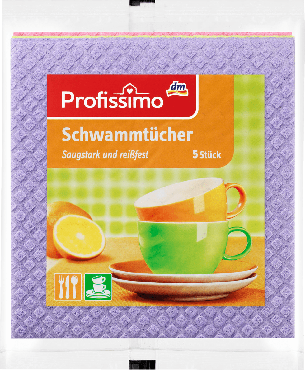 Губчатые салфетки для дома Profissimo, 5 шт., фото 1