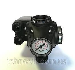 Реле давления  РМ/ 5-3W (220В) со встроенным манометром