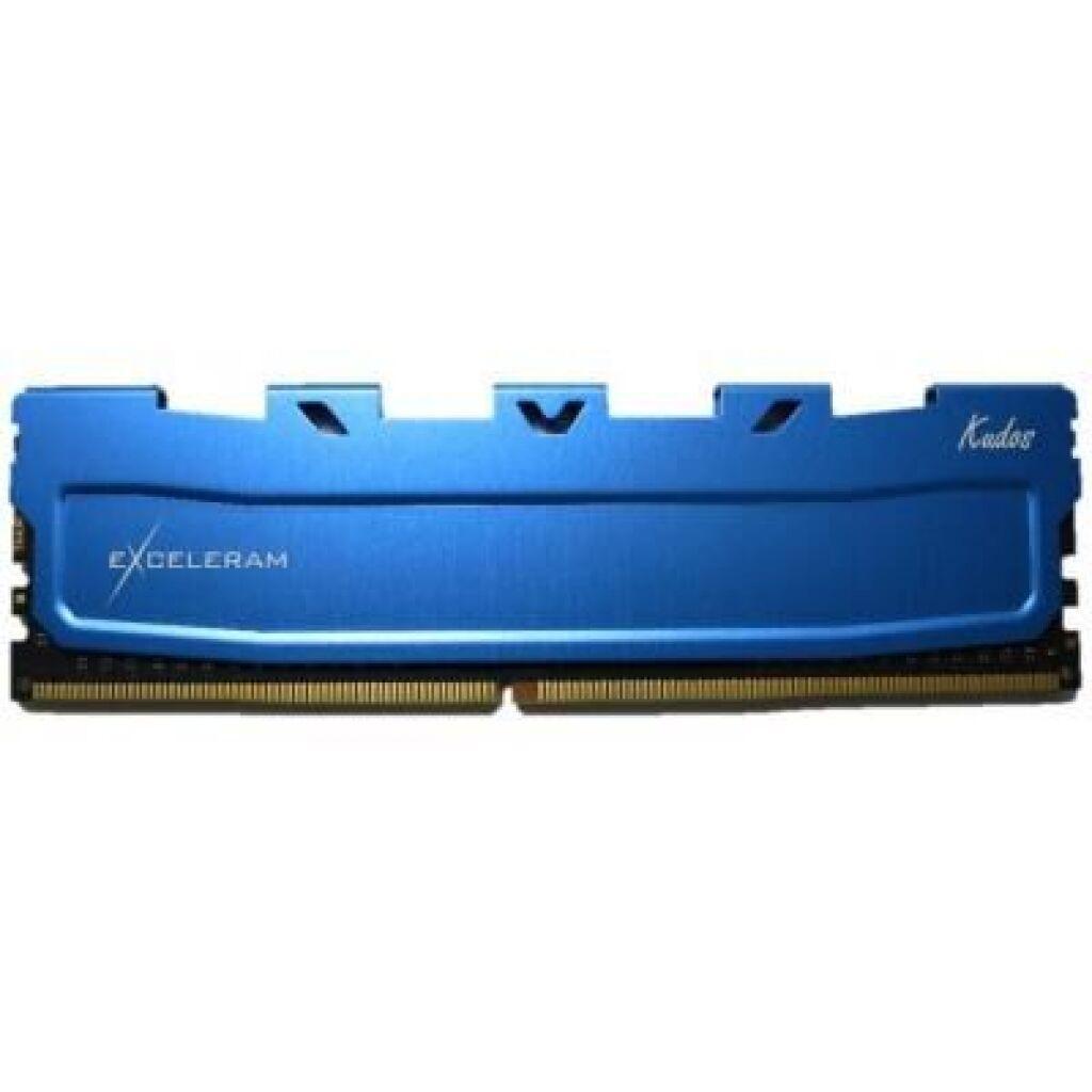 Модуль памяти для компьютера DDR4 8GB 2400 MHz Blue Kudos eXceleram (EKBLUE4082417A)