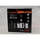 Блендер Domotec MS 5106 5в1 | | Кухонный измельчитель | Шейкер | Пищевой экстрактор Домотек, фото 2