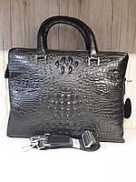Мужская сумки Рептилия кожа формат А4