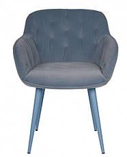 Кресло Viena (600х630х77,5) голубое, фото 2