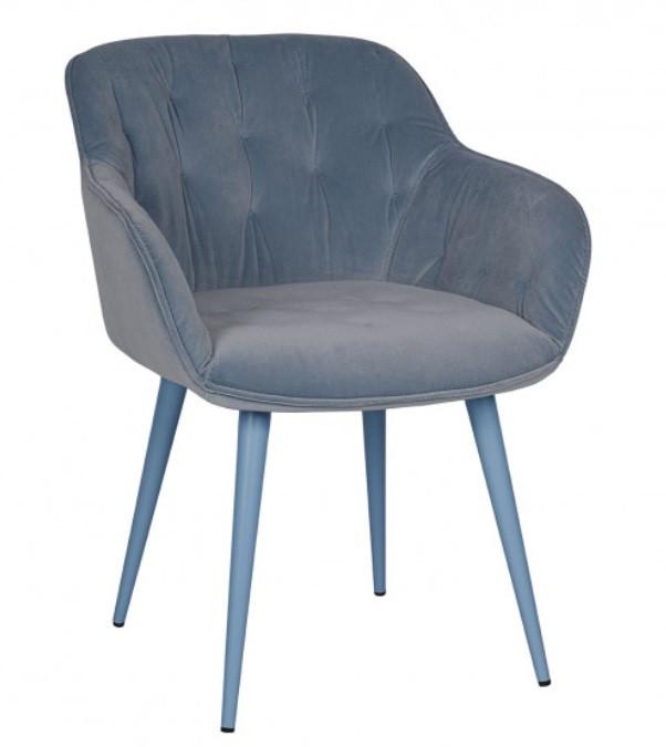 Кресло Viena (600х630х77,5) голубое