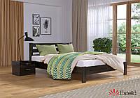 """Кровать двуспальная деревянная """"Рената люкс"""" 160*200 мм. Эстелла Венге(106)"""