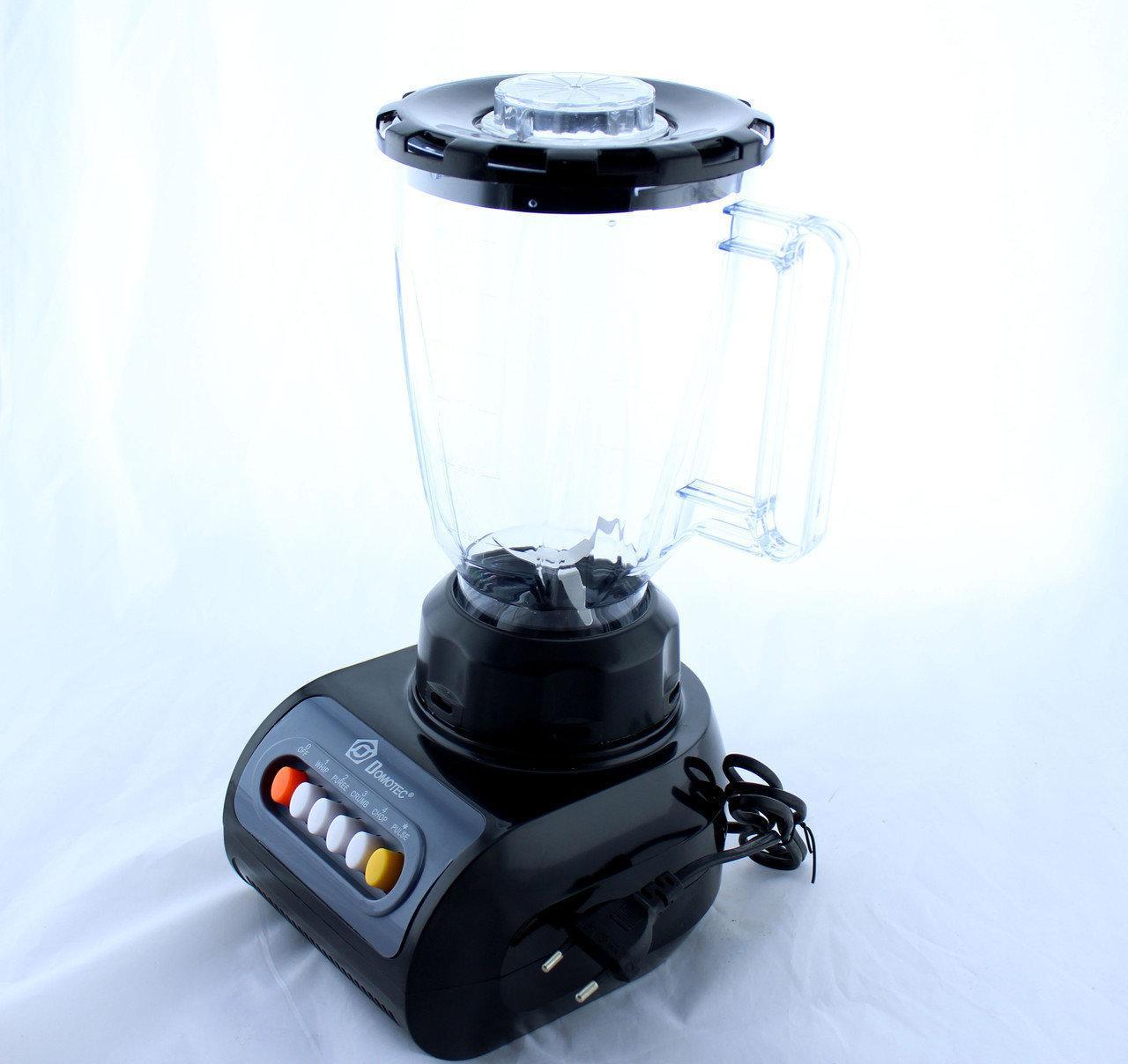 Блендер DOMOTEC MS 9099 | Кухонный измельчитель | Шейкер | Пищевой экстрактор Домотек
