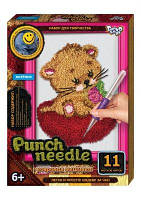 "Ковровая вышивка ""Punch needle: Котёнок"" PN-01-02 PN-01-01,02,0 sco"