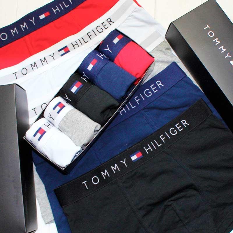 Трусы Tommy Hilfiger мужские 5шт. (хлопок) набор трусов Томми Хилфигер нижнее белье