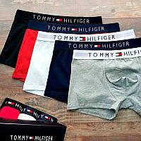 Трусы Tommy Hilfiger мужские 3шт. (хлопок) набор трусов Томми Хилфигер нижнее белье