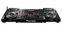Аренда стола для DJ: Pioneer CDJ-2000 - 2 шт, микшер Pioneer DJM-2000 - 1 шт