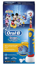 Электрическая зубная щетка Braun Oral-B Mickey Mouse D10.513 Music, фото 3