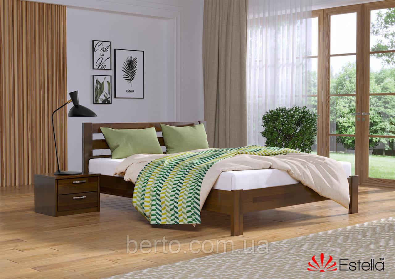 """Кровать двуспальная деревянная """"Рената"""" 160*200 мм. Эстелла"""