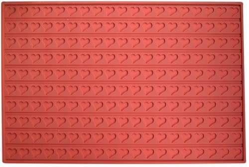 Коврик для заливания шоколада Сердечки 600400 мм Empire М-8418