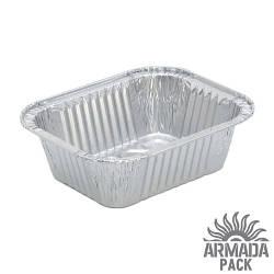 Контейнер из пищевой алюминиевой фольги R5, 100 шт.