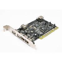 Maxxtro Контроллер PCI -> IEEE1394 (2x6pin ext. 1x4pin ext. 1x6pin int.) Чипсет NEC, Maxxtro