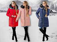 Модная зимняя женская куртка