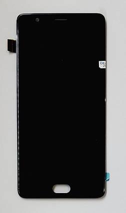Модуль (сенсор + дисплей) для ZTE Nubia M2 Lite (NX573J)чорний, фото 2