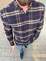 😜Рубашка - мужская теплая байковая рубашка