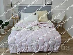 Зимнее теплое полуторное одеяло 155х210 Холофайбер., фото 3