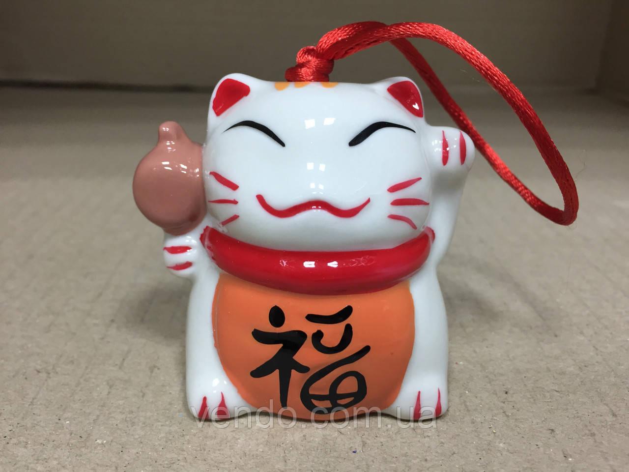 Колокольчик Счастливый кот