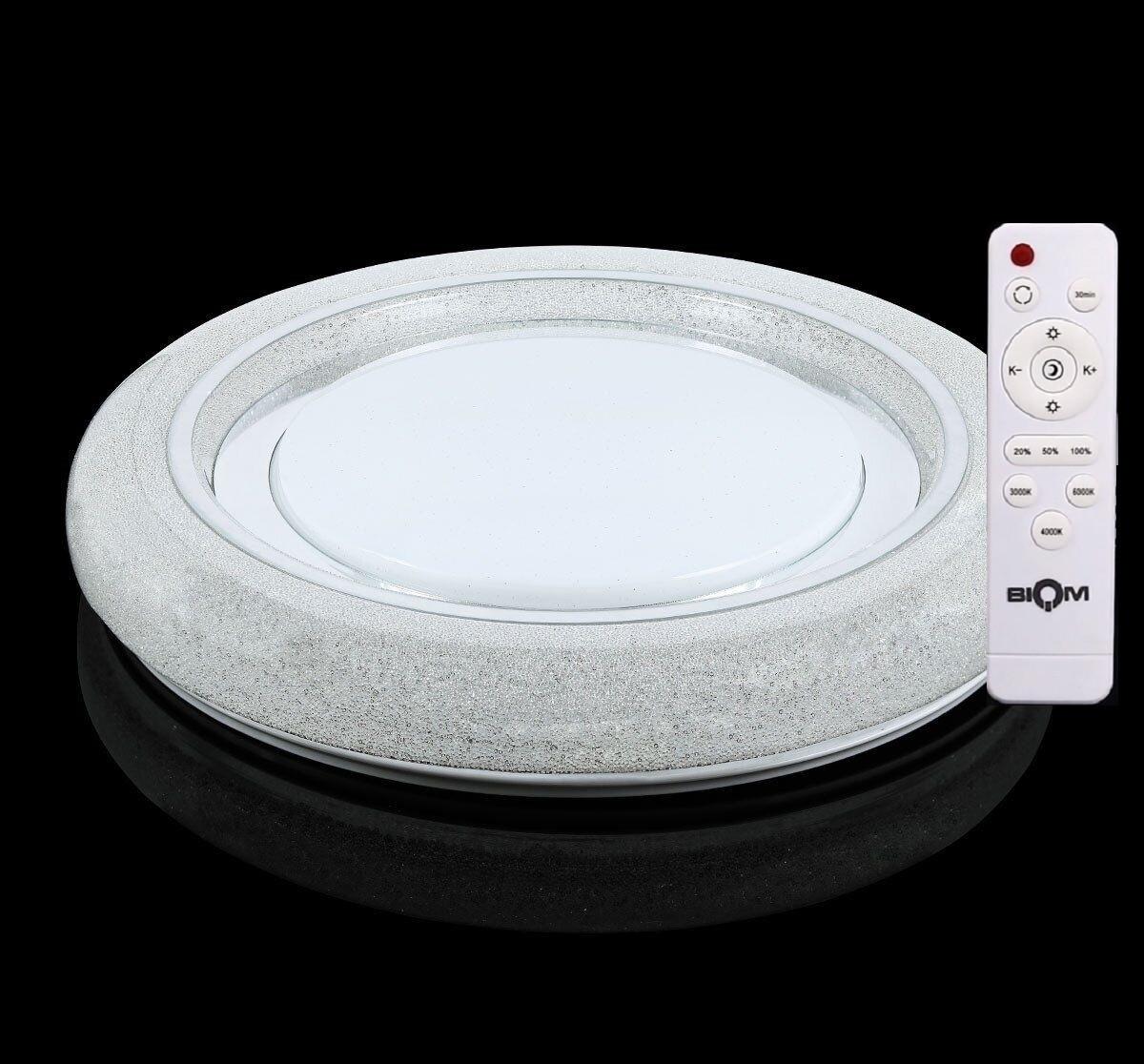 Светильник светодиодный Biom SMART SML-R11-50 3000-6000K 50Вт с дистанционным IR управлением