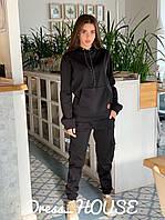 Теплый спортивный костюм с начесом и карманами 5rt795